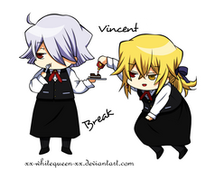 [PH] Break and Vincent by xx-WhiteQueen-xx