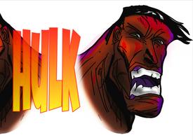 Red Hulk  !!! by Gman20999