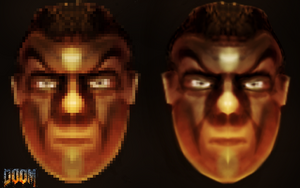 Cool Doom guy   art and graphics by Gman20999
