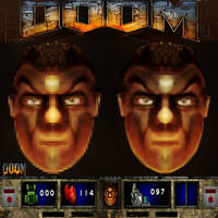 Doom graphics and concept art  by Gman20999