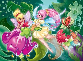 Fairies 01 by Yulcha
