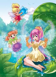 Fairies 02 by Yulcha