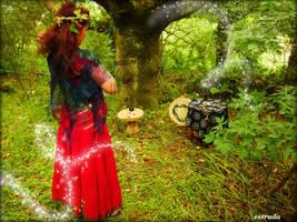 Casting spells by Estruda