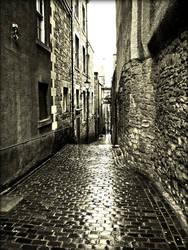 Old Side Street by Estruda