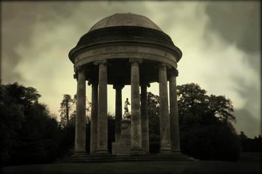 Stormy Temple by Estruda