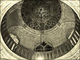 Temple Interior Roof by Estruda