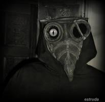 Portrait Of The Plague Doctor by Estruda