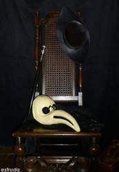 The Plague Doctor Has Gone To Bed by Estruda