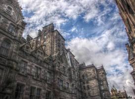 Edinburgh Street Buildings 2 by Estruda