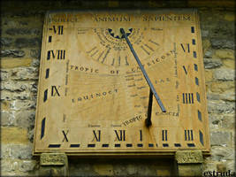 Wall Sundial 1775 by Estruda