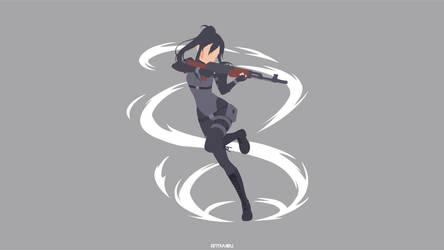 Pitohui (SAO Alternative: Gun Gale Online) by AntiVVIBU