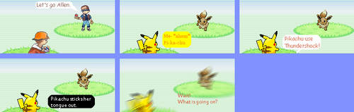 Comic 1 for Pokemon Wolley by kirby144