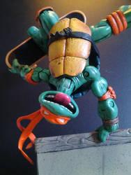 Michelangelo TMNT Custom Action Figure by FigureHunterCustoms
