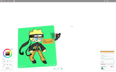 Naruto Uzumaki [Roblox Drawing] by CatGirl22111