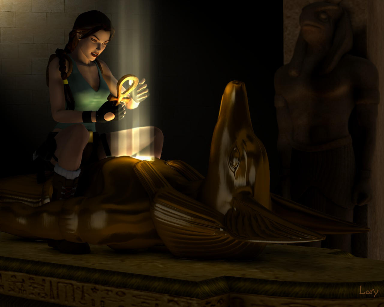 Tomb Raider : AMULET OF HORUS by D-Lory