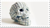 Keyboard Skull | Stamp by PuniPlush