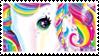 Lisa Frank Unicorn | Stamp by PuniPlush
