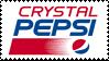 Crystal Pepsi Logo   Stamp by PuniPlush