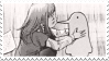 PunPun Kiss | stamp by PuniPlush