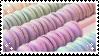 Macaroons   stamp by PuniPlush
