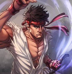 Ryu [Print available] by RamzyKamen