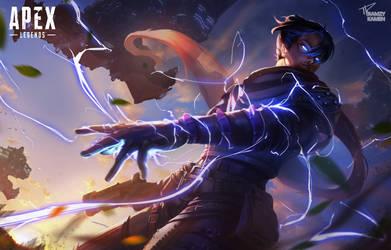 Wraith - Apex Legends by RamzyKamen