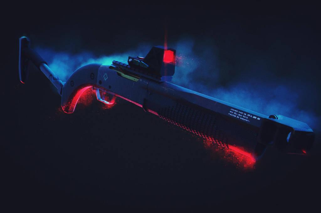 Render Shotgun by Jose-Melo
