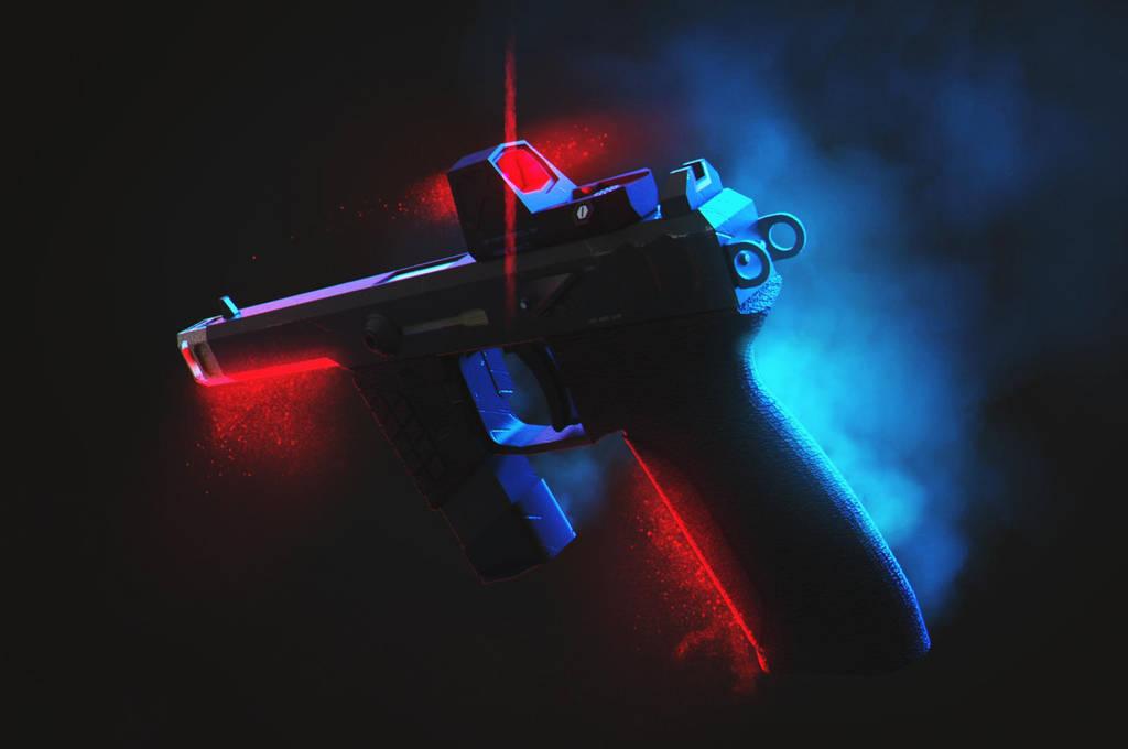 Render  Pistola by Jose-Melo
