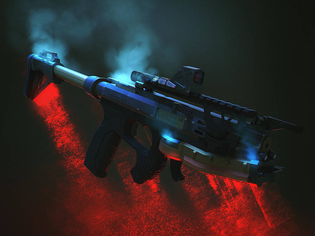 Render Smg1 by Jose-Melo