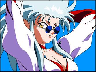 Tenchi Muyo - Ryoko Hakubi by avenger504