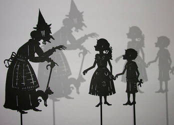 Hansel and Gretel + Witch by PaperTales