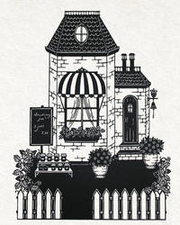 The confiture shop by PaperTales