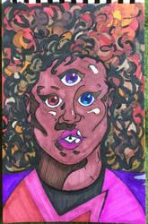 Garnet Portrait by nickmandl