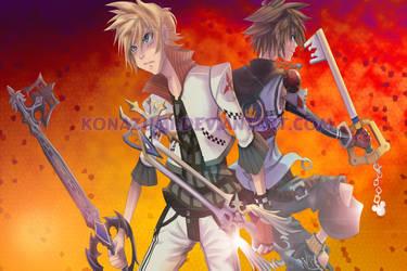 Kingdom Hearts- At Arms by Konazumi