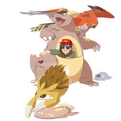 my life as a poketrainer by scrii