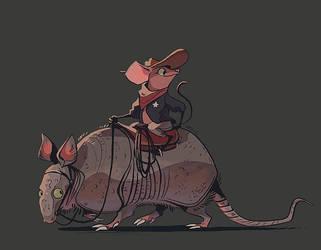 tiny sheriff by scrii