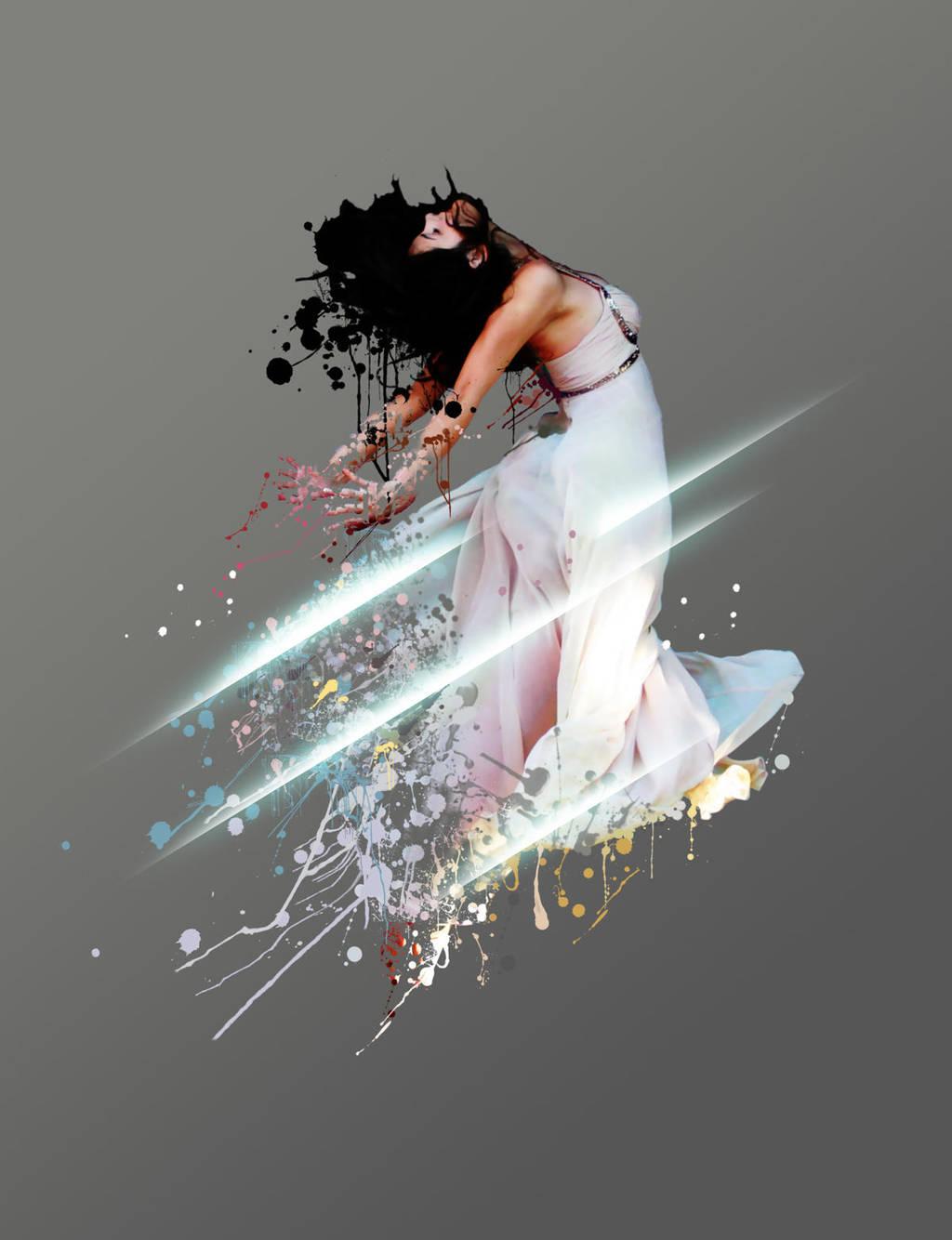 fly in paint by gw3n