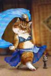 Furry bellydancer by gw3n