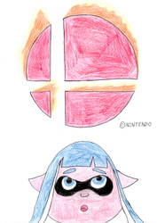 Inkling In Smash by wilmel