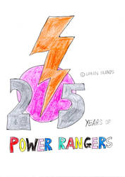 Power Rangers 25th Anniversary by wilmel