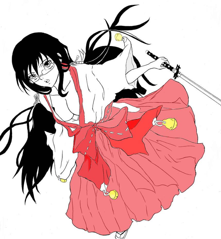 Blood C Saya Kisaragi By BlackList90 On DeviantArt