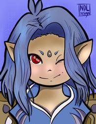 Seiji Portrait by Lucora