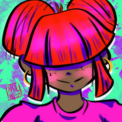 Bright Doodle 2 by Lucora