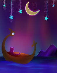 Kitty Dream Boat by Lucora