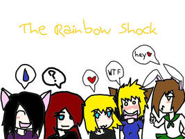 The Rainbow Shock by RelloRainbow
