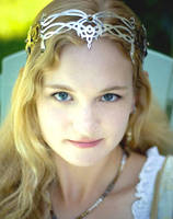 Elven Flower Crown by KellyMorgenJewelry