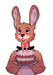 Birthday Gift (Commission) by Red-Wolffie
