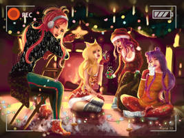 K/da merry christmas! by AlterEGOsmierci
