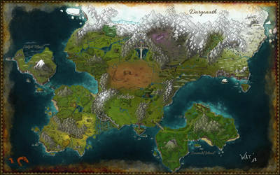 RPG project map - Arkan Empire - Final version by Watanka