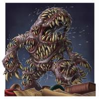 Tooth Golem by DaveAllsop